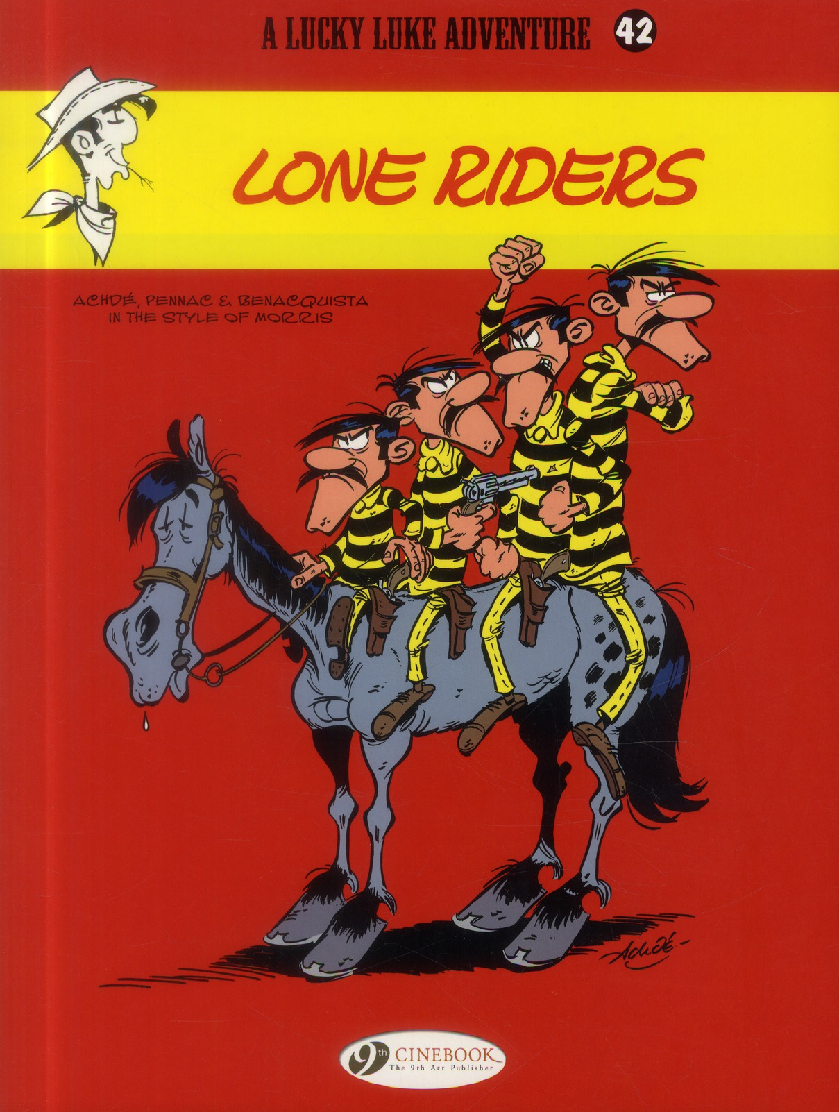 LUCKY LUKE - TOME 42 LONE RIDERS - VOL42