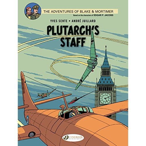 BLAKE ET MORTIMER T21 - PLUTARCH'S STAFF