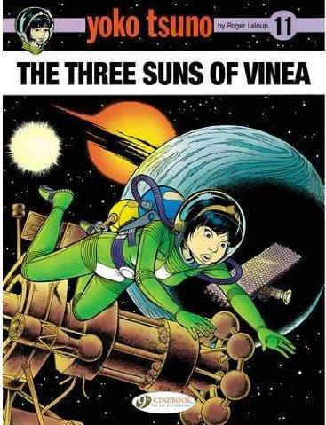 YOKO TSUNO - TOME 11 THE THREE SUNS OF VINEA