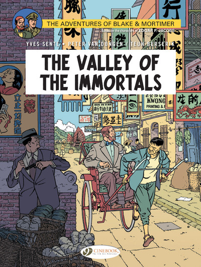 BLAKE & MORTIMER - VOLUME 25 THE VALLEY OF THE IMMORTALS