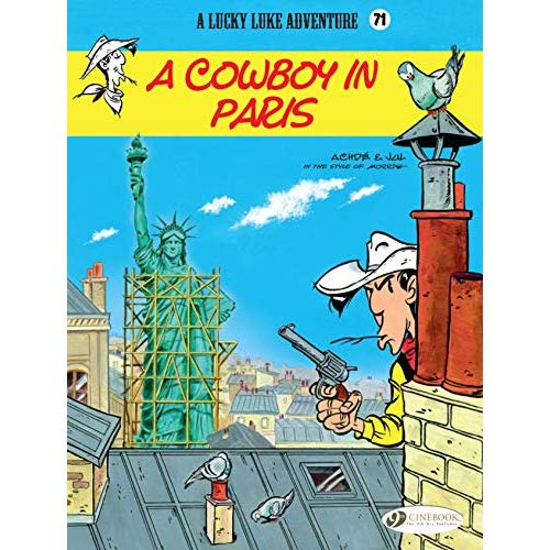 LUCKY LUKE - VOLUME 71 A COWBOY IN PARIS