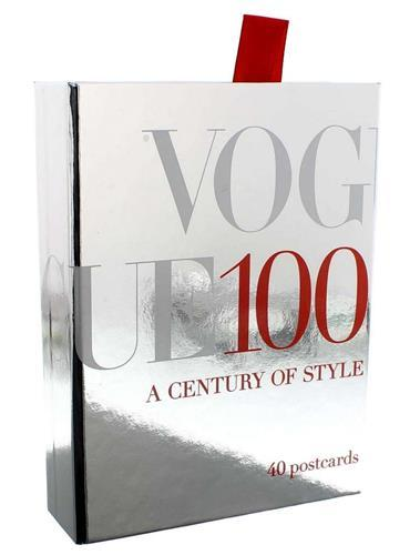 VOGUE 100: A CENTURY OF STYLE - 40 POSTCARDS /ANGLAIS