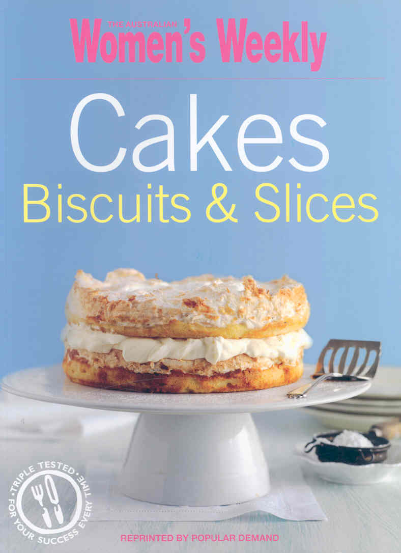 CAKES, BISCUITS AND SLICES