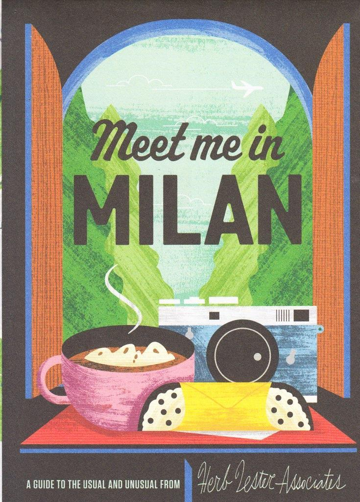 MEET YOU IN MILAN  (FOLDED MAP) /ANGLAIS