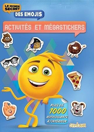 LE MONDE SECRET DES EMOJIS : ACTIVITES ET 1000 STICKERS