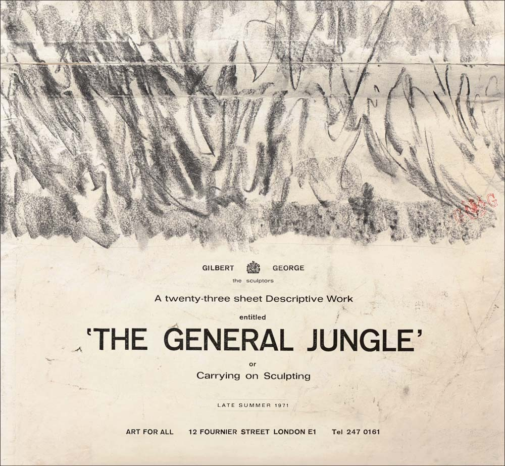 GILBERT & GEORGE: GENERAL JUNGLE /ANGLAIS