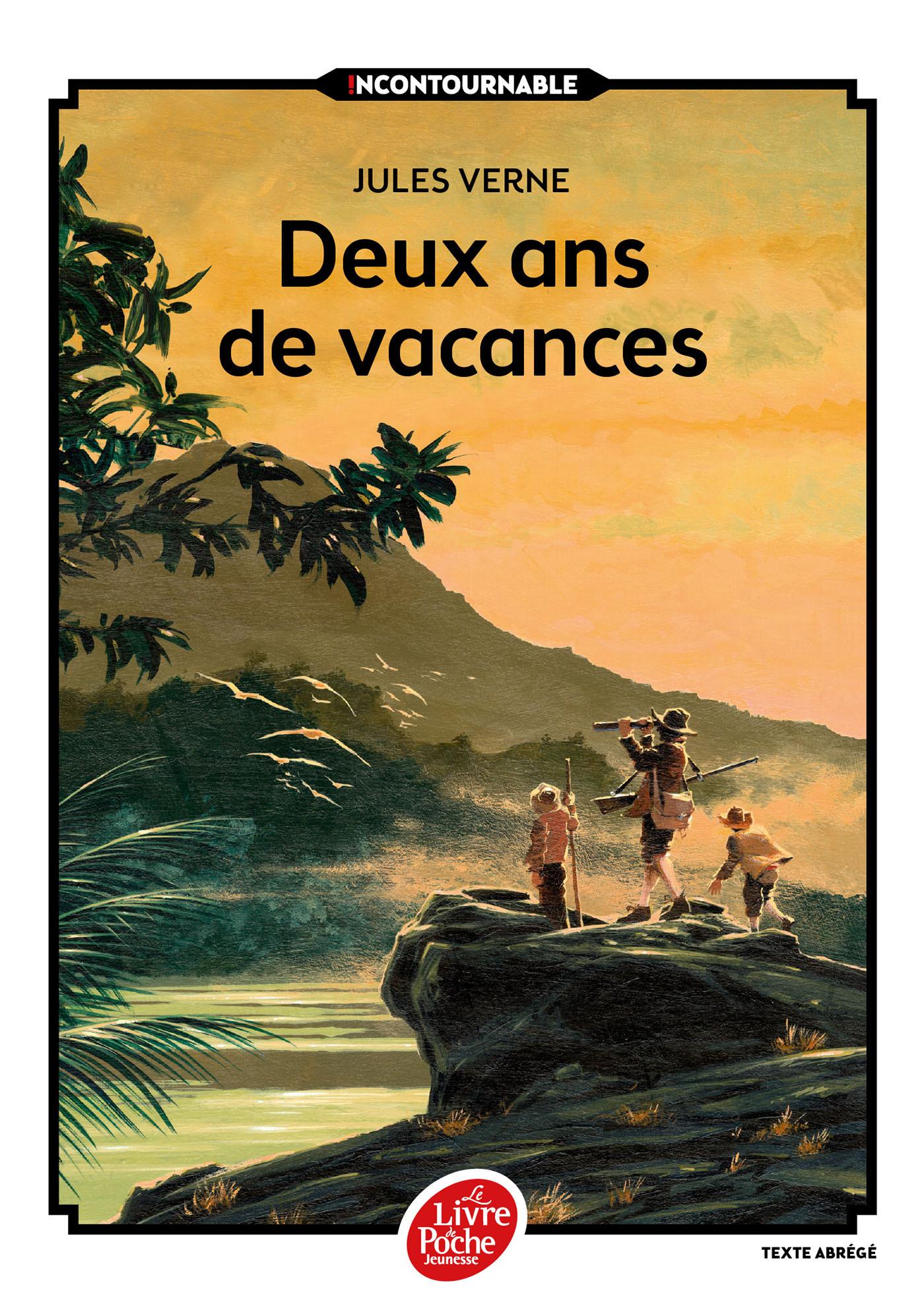DEUX ANS DE VACANCES - TEXTE ABREGE