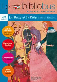 LE BIBLIOBUS N  4 CM - LA BELLE ET LA BETE - LIVRE DE L'ELEVE - ED.2004 - 4 OEUVRES COMPLETES