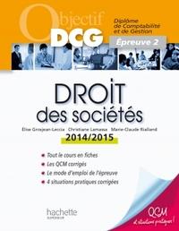 OBJECTIF DCG - DROIT DES SOCIETES