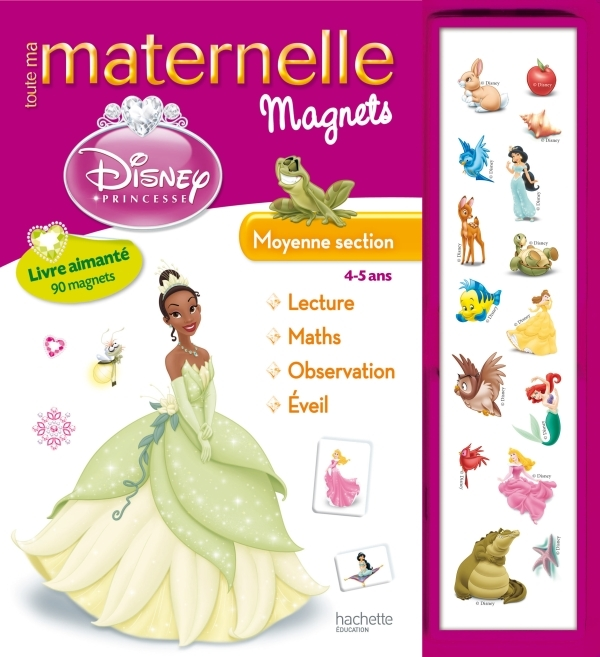 TOUTE MA MATERNELLE - PRINCESSES MAGNETS MS