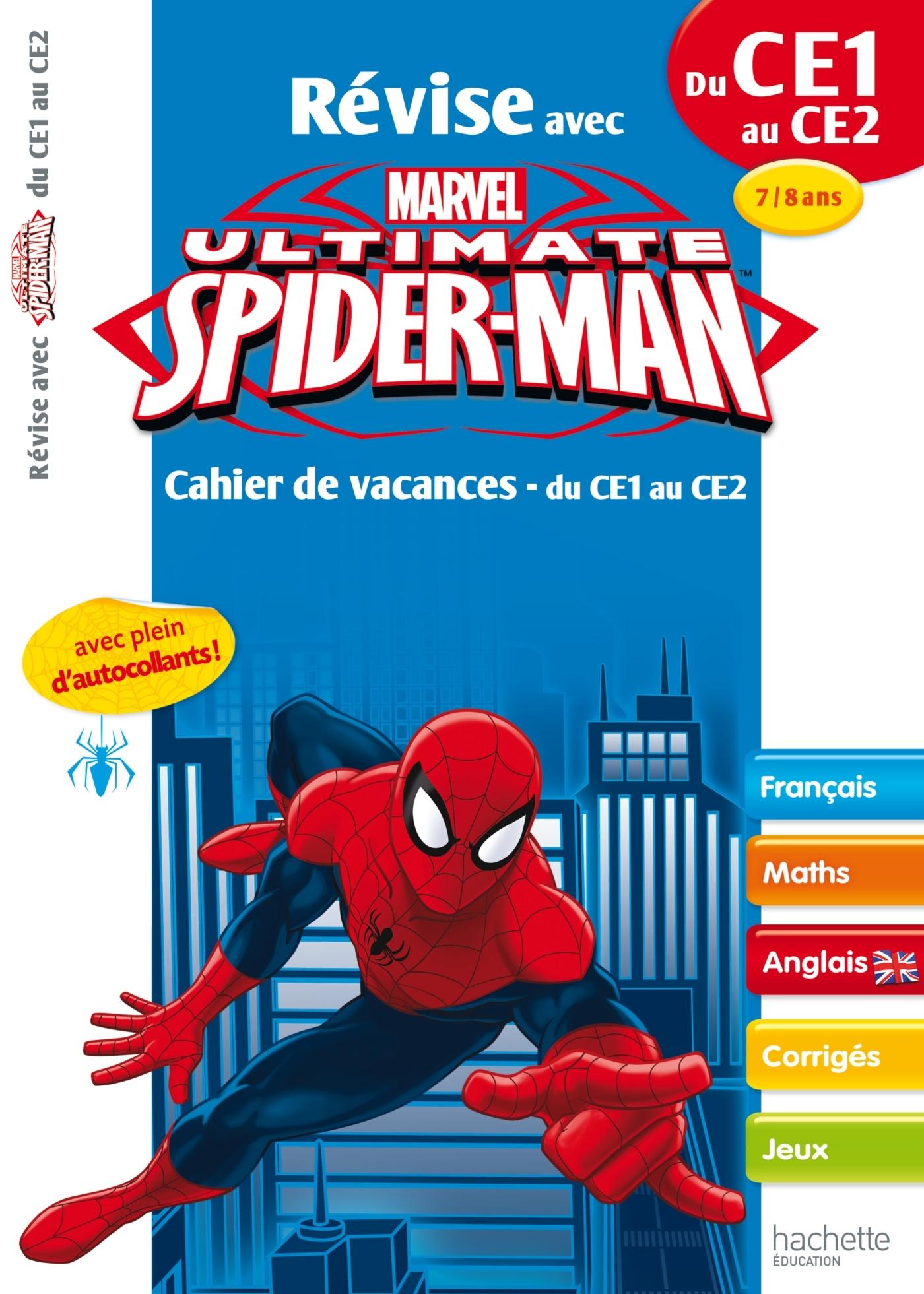 REVISE AVEC SPIDER-MAN - CE1/CE2