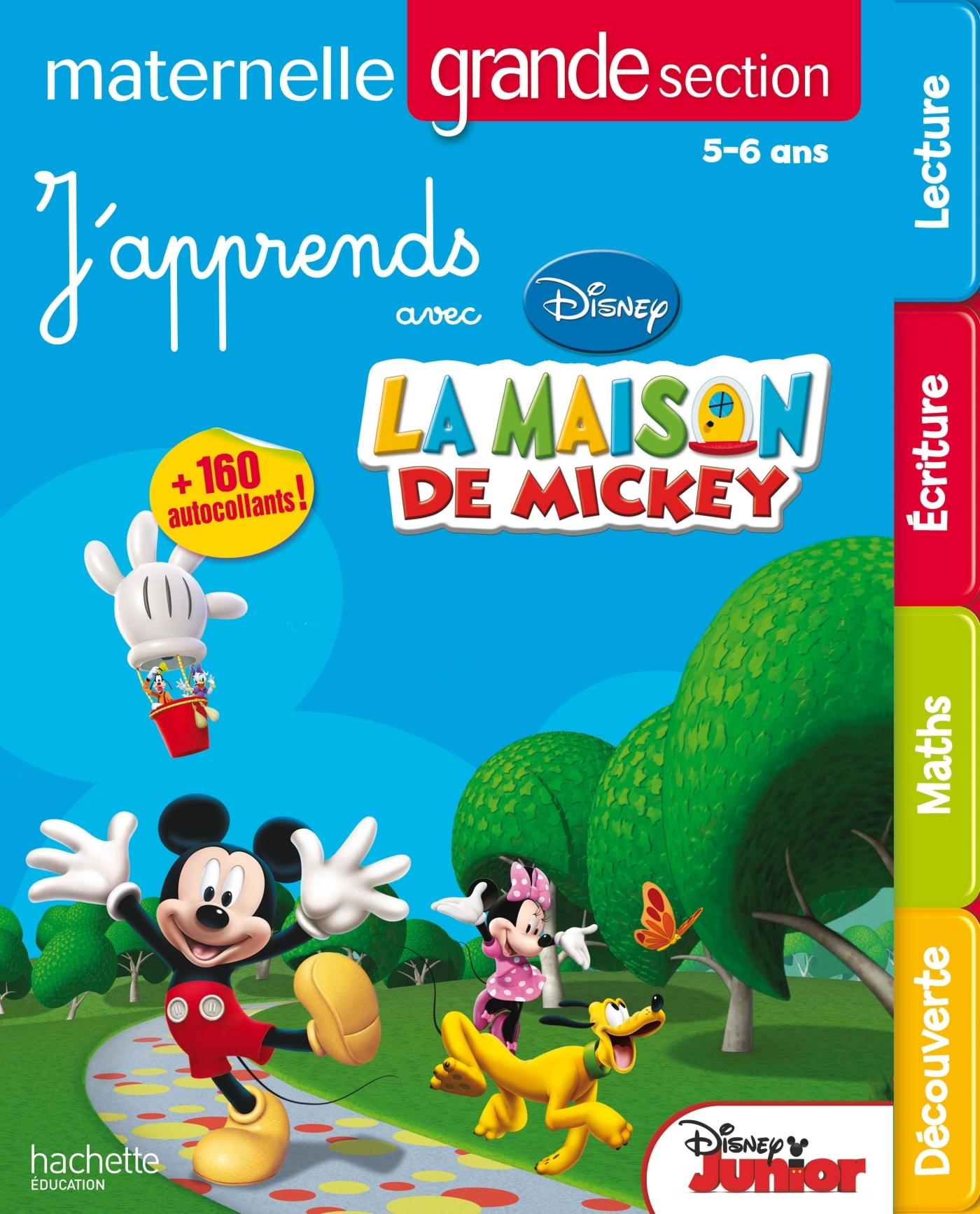 J'APPRENDS AVEC MICKEY - MS