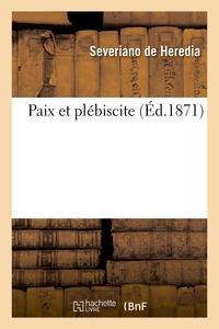 PAIX ET PLEBISCITE