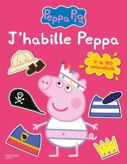 PEPPA PIG - ACTIVITES J'HABILLE PEPPA