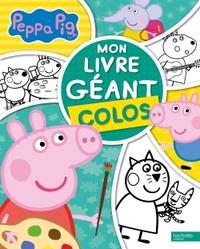 PEPPA PIG - MON LIVRE GEANT COLOS