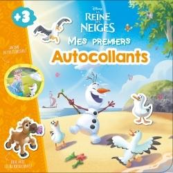 OLAF, LA REINE DES NEIGES, MES PREMIERS AUTOCOLLANTS