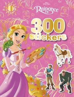 RAIPONCE, PRINCESSES, 300 STICKERS