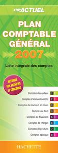 TOP'ACTUEL PLAN COMPTABLE GENERAL 2007