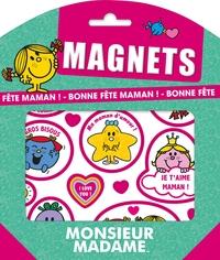MONSIEUR MADAME - MAGNETS - BONNE FETE MAMAN