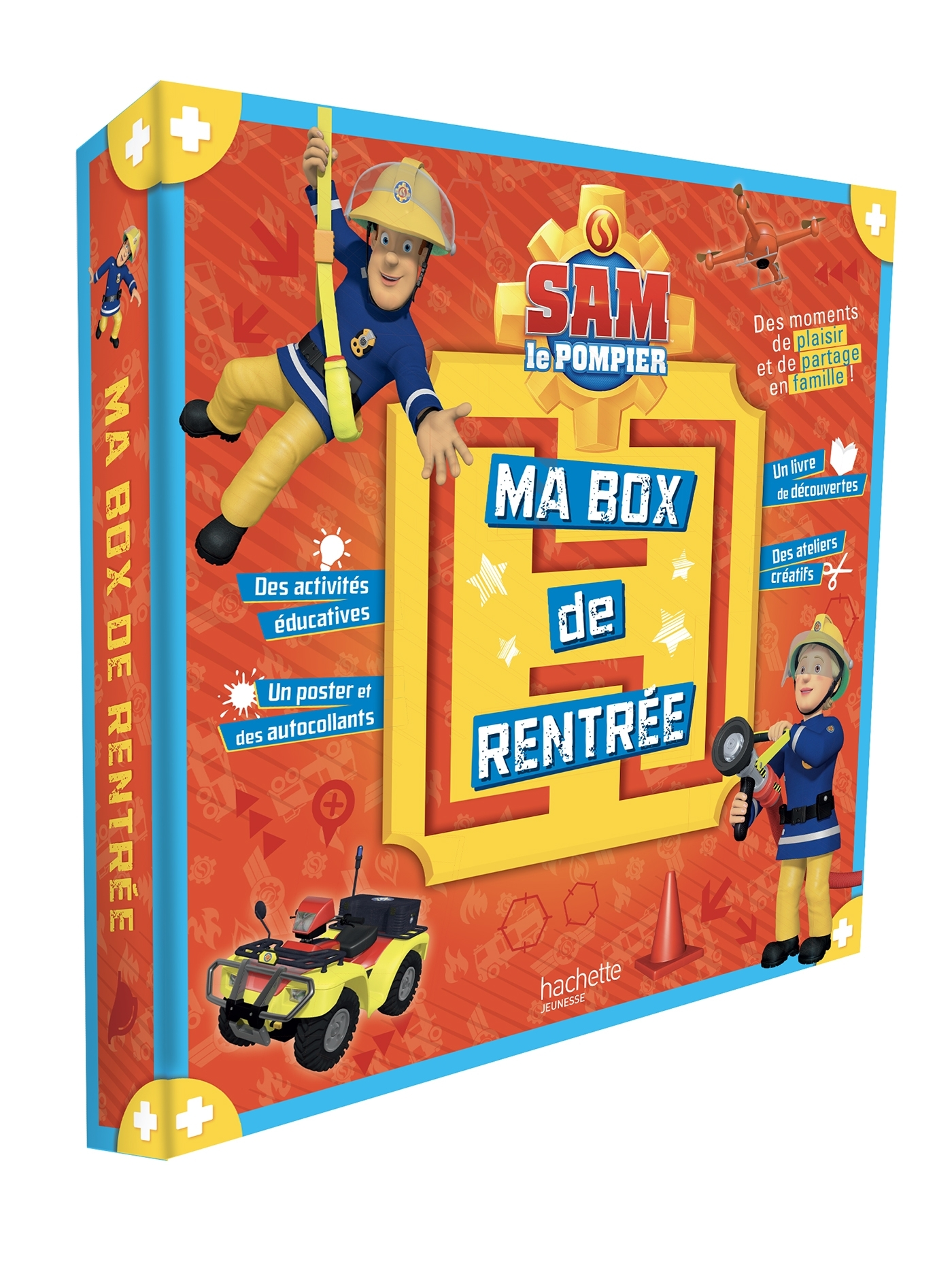 SAM LE POMPIER - BOX RENTREE