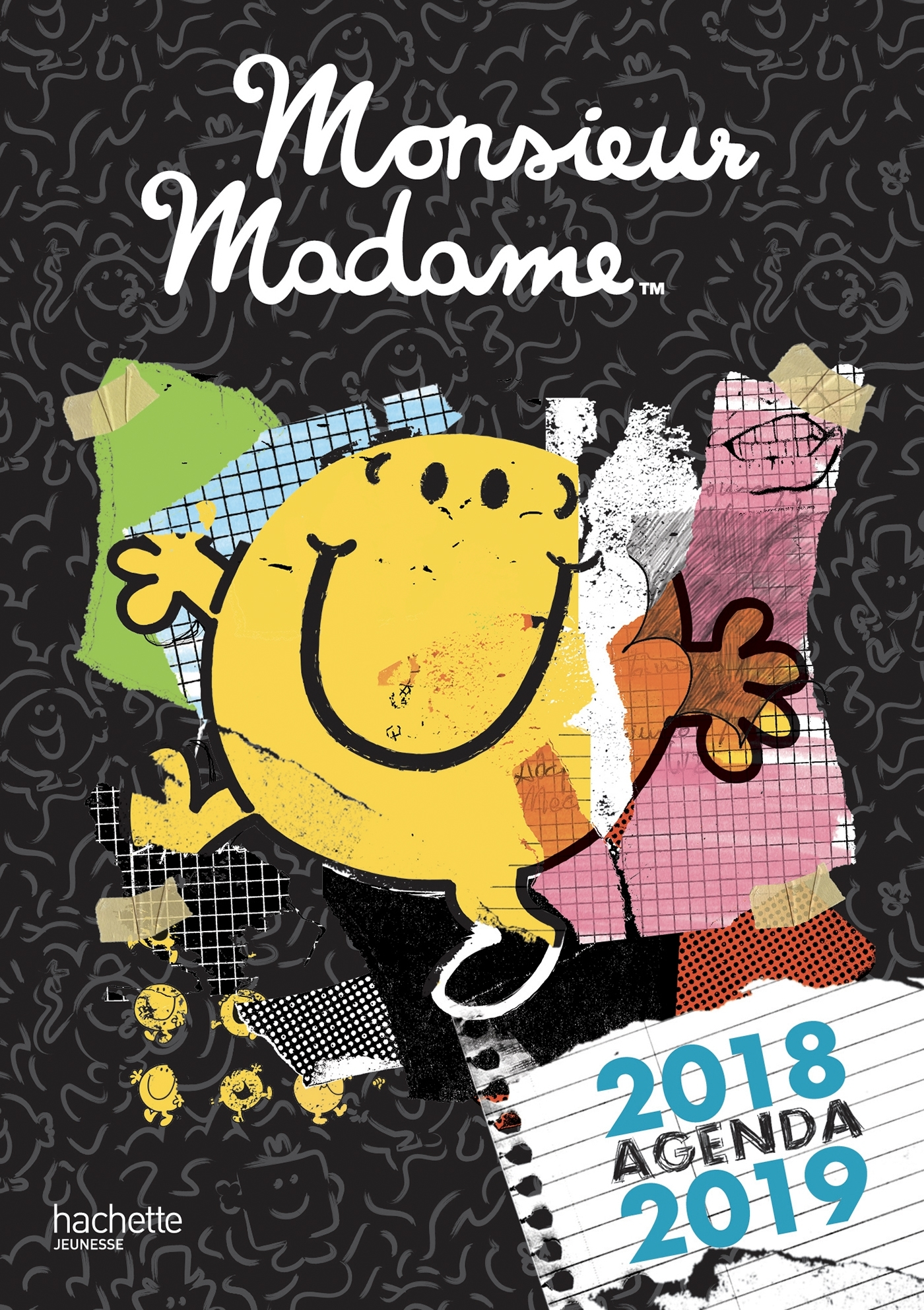 MONSIEUR MADAME - AGENDA 2018-2019