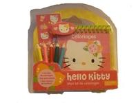 MON KIT DE COLORIAGES HELLO KITTY (PRODUIT D'APPEL MARKETING OPE HELLO KITTY)