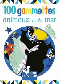 100 GOMMETTES - ANIMAUX DE LA MER