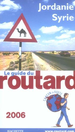 GUIDE DU ROUTARD JORDANIE SYRIE 2006
