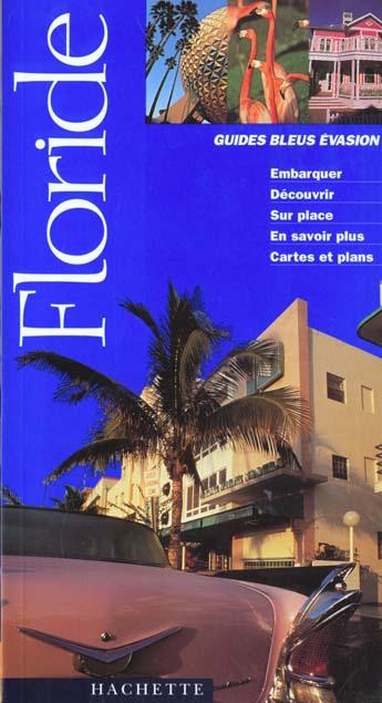 GUIDE BLEU EVASION FLORIDE