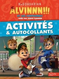 ALVIN ET LES CHIPMUNKS-ACTIVITES ET AUTOCOLLANTS