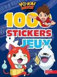 YOKAI WATCH - 1000 STICKERS ET JEUX