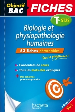 OBJECTIF BAC FICHES DETACHABLES BIO PHYSIO TERM ST2S