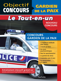OBJECTIF CONCOURS - TOUT-EN-UN - GARDIEN DE LA PAIX