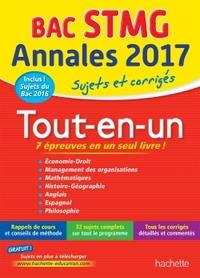 ANNALES BAC - SUJETS ET CORRIGES LE TOUT-EN-UN TERM STMG
