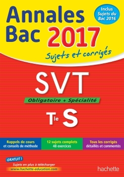ANNALES BAC 2017 - SVT TERM S