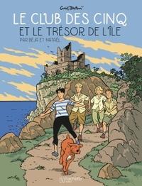 LE CLUB DES 5 - TOME 1 - LE TRESOR DE L'ILE