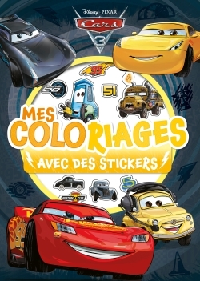 CARS 3 - MES COLORIAGES AVEC STICKERS
