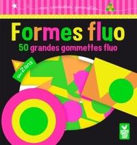 FORMES FLUO - 50 GRANDES GOMMETTES
