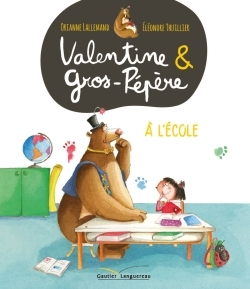 VALENTINE ET GROS-PEPERE - A L'ECOLE