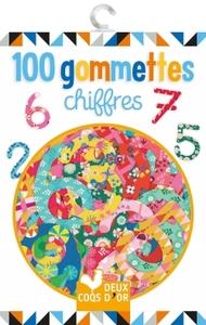 100 GOMMETTES - CHIFFRES