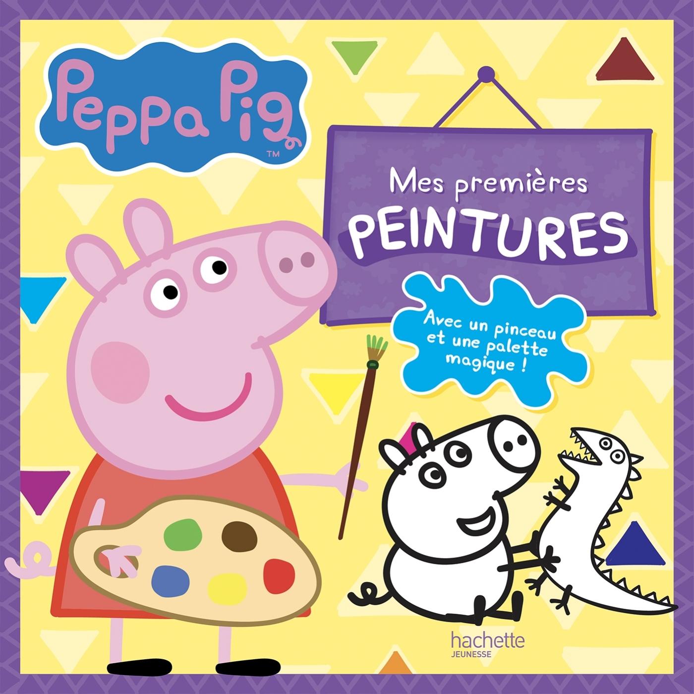 PEPPA PIG - MES PREMIERES PEINTURES