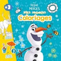 OLAF, LA REINE DES NEIGES, MES PREMIERS COLOS