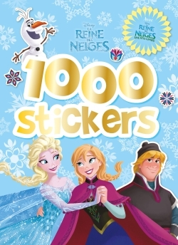 REINE DES NEIGES, FETE GIVREE 1000 STICKERS