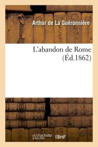 L'ABANDON DE ROME