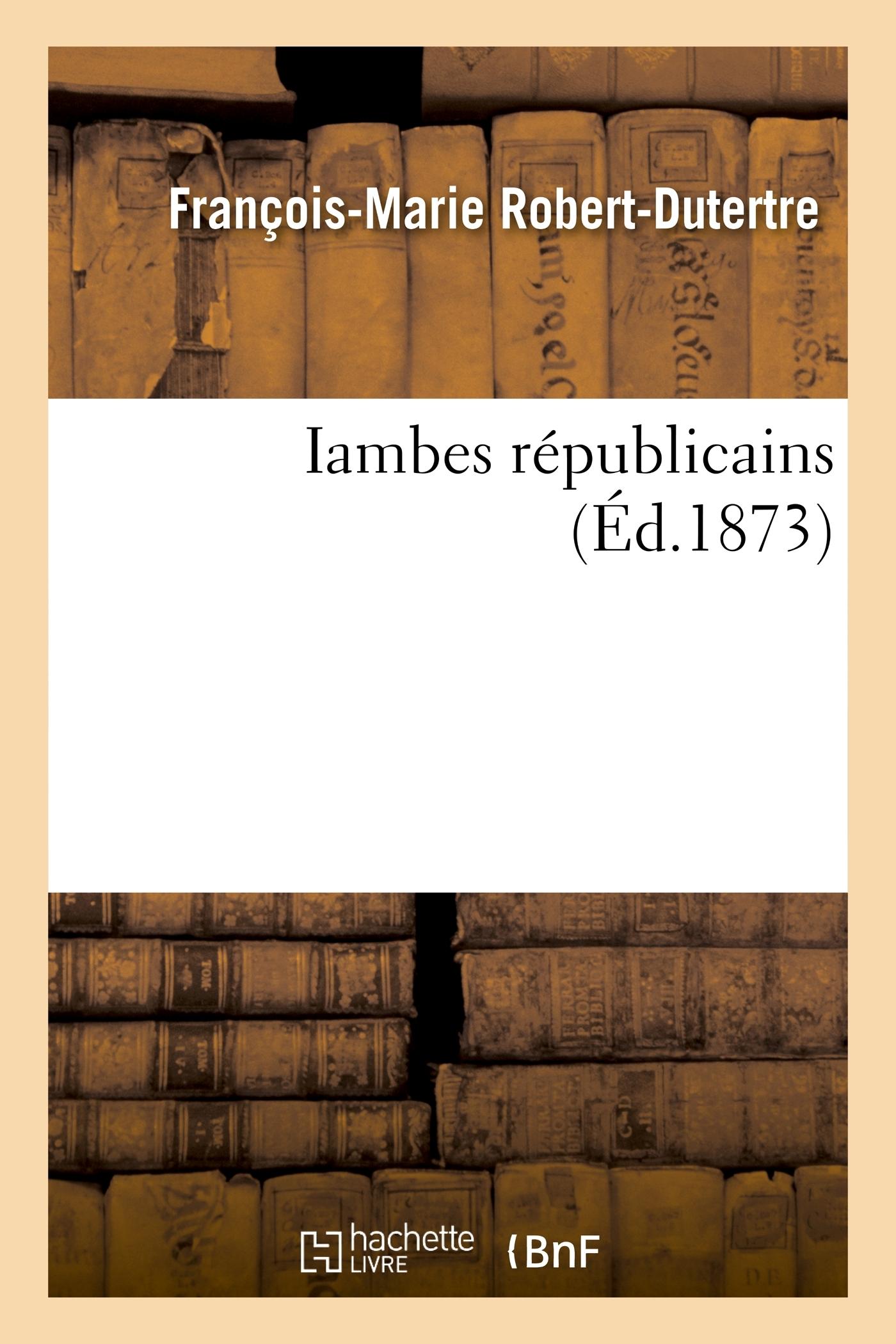 IAMBES REPUBLICAINS