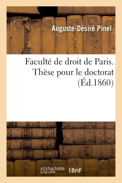FACULTE DE DROIT DE PARIS