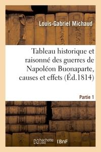 TABLEAU HISTORIQUE ET RAISONNE DES GUERRES DE NAPOLEON BUONAPARTE PARTIE 1