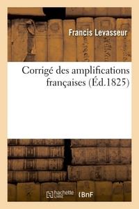 CORRIGE DES AMPLIFICATIONS FRANCAISES