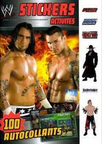 WWE STICKERS - ACTIVITES