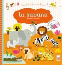 LA SAVANE - LIVRE SONORE A TOUCHER